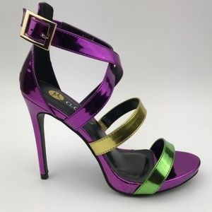 Machi Footwear Shoes - Machi Footwear Lori-2 Purple Heel